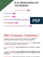 Presentation on Torqueing Tension Ing