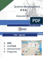 OSD - Presentación AnyTrack - Sistema de Seguimiento y Monitoreo Vehicular - crm medellin