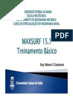 MAXSURF_-_Treinamento