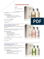 Molton Brown - Cosmetics Proposal
