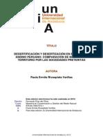 DESERTIZACIÓN DEL ALTIPLANO PERUANO