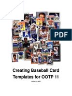Creating Baseball Card Templates for OOTP 11