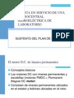 PUESTA EN SERVICIO DE UNA MICRO CENTRAL HIDROELÉCTRICA DE LABORATORIO