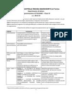 programmazione classi iv italiano 2013-14
