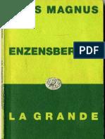 H.M. Enzensberger_ La Grande Migrazione