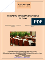 MERCADO E INTERVENCION PUBLICA EN CHINA (Es) MARKET AND GOVERNMENT INTERVENTION IN CHINA (Es) MERKATU ETA ESKUHARTZE PUBLIKOA TXINAN (Es)