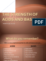 6.5a Strong and Weak Acids and Bases