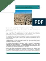 Efectos del cambio climático, sequía en México