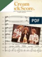 Cream - Rock Score