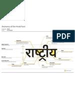 Anatomy of the Hindi Typeface