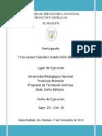 Presentación de Informe de Practica Docente