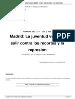 Madrid, La Juventud Vuelve A
