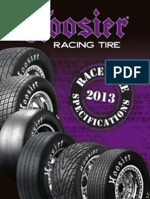 HOOSIER 11.0//24.0-15 09120 Asphalt Drag Tire