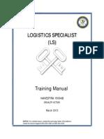 Logistics Specialist NAVEDTRA 15004B