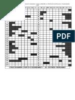 Crucigrama Politico + Documento de Trabajo