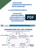Presentación de los servicios de Bienestar Universitario