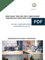 Presentacion y Buenas Practicas de Manufactura 2013