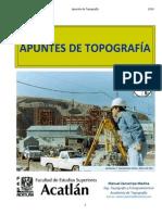 APUNTES DE TOPOGRAFÍA 2014