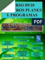 Planes y Proyectos 2009-10