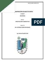 Seguridad en Base de Datos - Jorge Rolando Cabrera Pech
