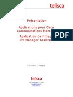 Telisca IPS Manager Assistant Français