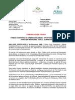 Comunicado de Prensa Park Hyatt Monte Del Barco Espanol