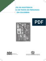 Guia de Asistencia a Victimas de Trata de Personas en Colombia