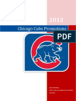 chicago cubs promotions