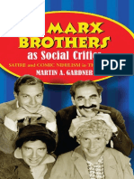 [Martin a. Gardner] the Marx Brothers as Social Critics