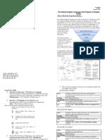 program of studies handout