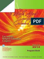 RECongress 2014 Program Book