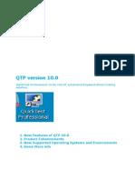 QTP Version 10.0 New Features