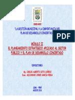 Planeamiento Estrategico Publico Pdc