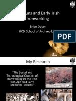 Bullauns and Early Irish Iron Production
