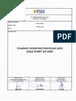 LR-PK-UN-001 SOP Cold Start Up Unit (Rev01)
