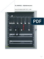 AlphaAnnounce Technical Manual - En