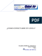 Como Conectarse en Linea GLOBAL AIR