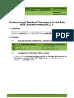 SW-LNX-00000001 - Configuracion del Servidor de Transferencia de Hipertexto HTTP Apache2 en openSUSE 11-1