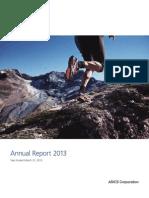 Asics Annual Report2013