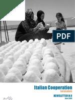 Newsletter 9 -Italian Cooperation Jerusalem