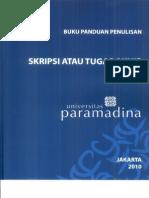 Buku Panduan Skripsi Universitas Paramadina