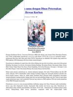 PKH UB Bekerja Sama Dengan Dinas Peternakan Propinsi Periksa Hewan Kurban 11661 Id