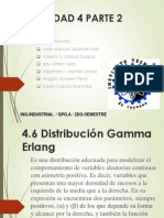 4.6 Distribucion Gamma Erlang