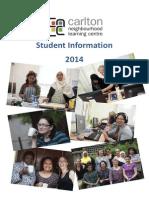 Student Information 2014