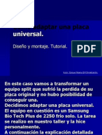 Como Adaptar Una Placa Universal2