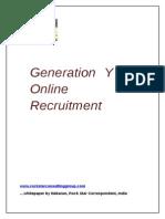 Online Recruitment Whitepaper by Bob Panic www.rockstarconsultinggroup.com