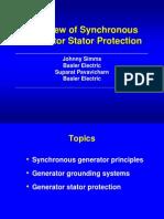 Generator Stator Protection