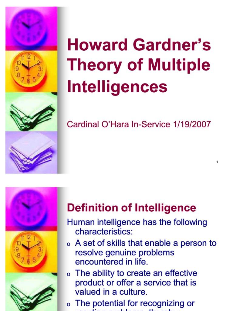 41946401 multiple intelligences | intelligence | value (personal and