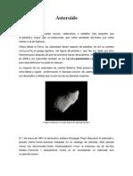 Meteoritos y Asteroides