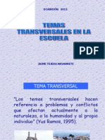 TEMAS TRANSVERSALES